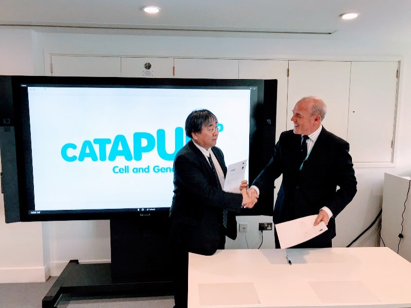 The UK's Cell and Gene Therapy Catapult enters Japanese collaboration