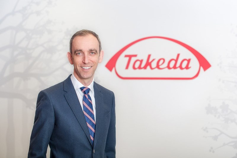 New UK and Ireland boss for Takeda