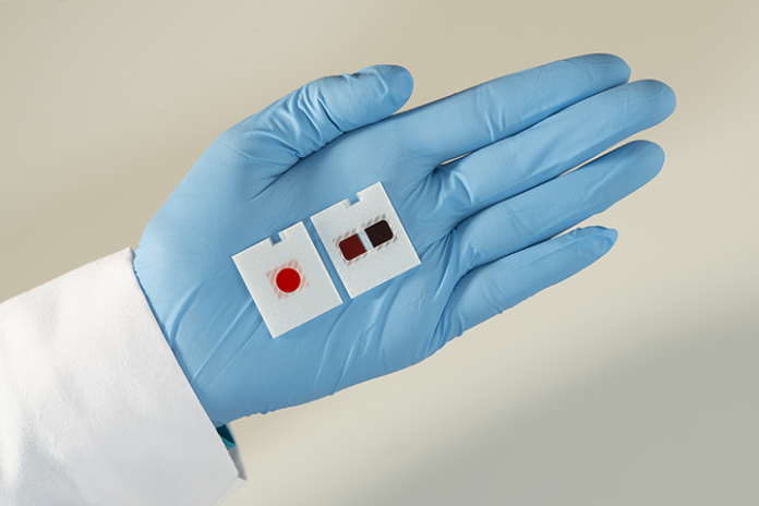 Ortho secure CE Mark for slide allowing simultaneous tests