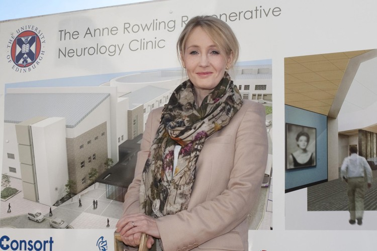 J.K Rowling donates £15m to fund MS research