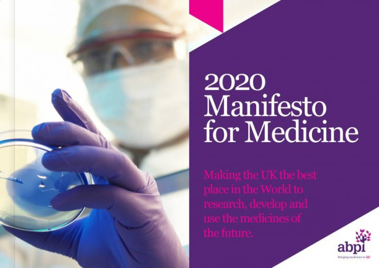 UK pharma industry launches medicine manifesto ahead of general election
