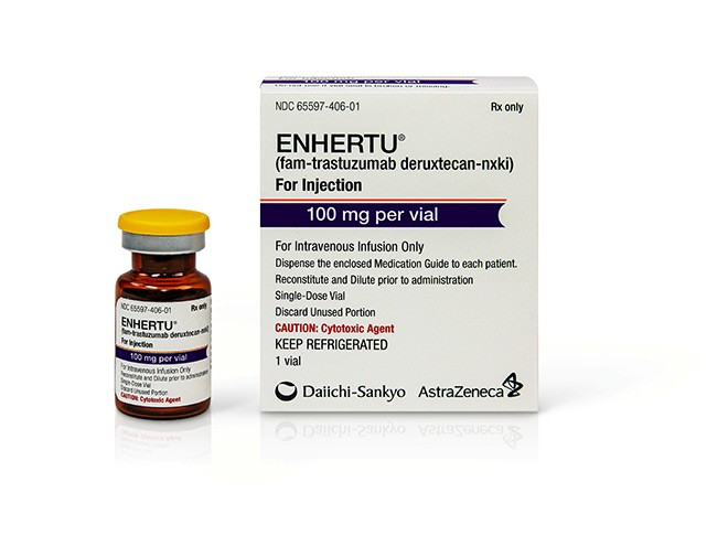 Breakthrough status for Enhertu in NSCLC