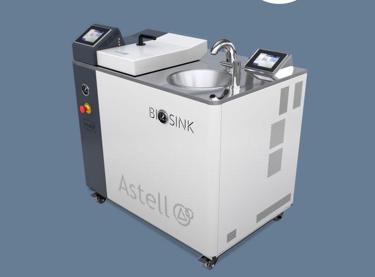 Astell Scientific release a range of wastewater-sterilising sinks