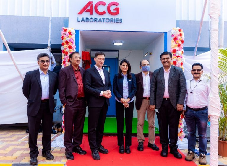 ACG launches ACG Laboratories by opening a Process Development Lab in Shirwal, India