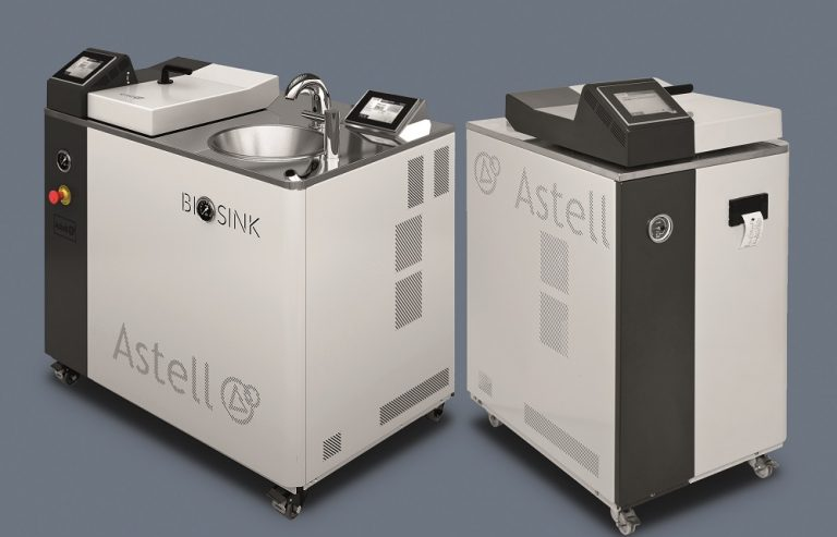 Astell's Compact Top-loading Autoclave now features in the Astell BioSink range